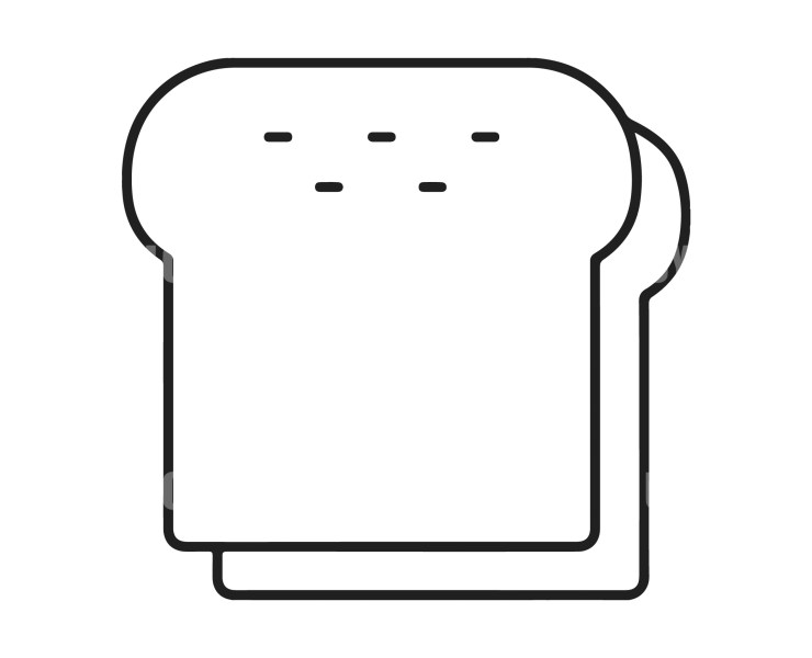 Toast Instant download in several files for Logo or Label