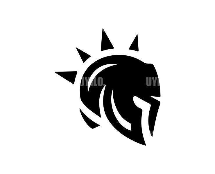 Helmet Greek Logo