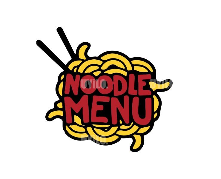 Illustration Logo Noodle Menu 2
