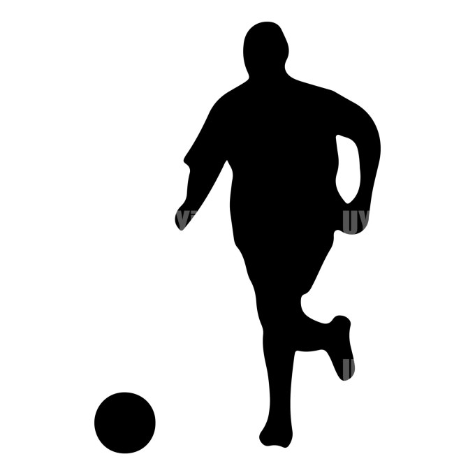 Soccer Player 4 Instant Download in several files