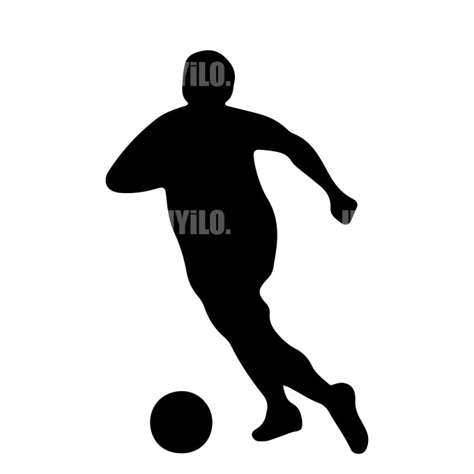 Soccer Player Instant Download in several files