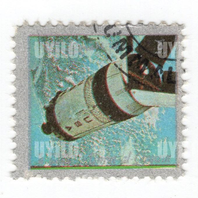 1972 Umm Al Qiwain 5 Space Mission Postage Stamps 4