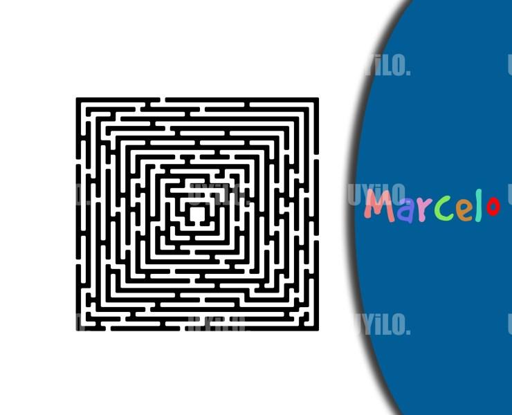 Clip Art Labyrinth Maze, Instant Download