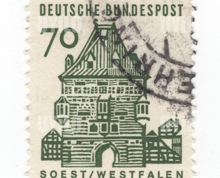 Postage Stamp 70 Deutsche Bundespost Westfalen Soest