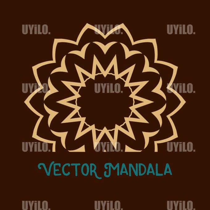 Vector Mandala 109, Instant Download