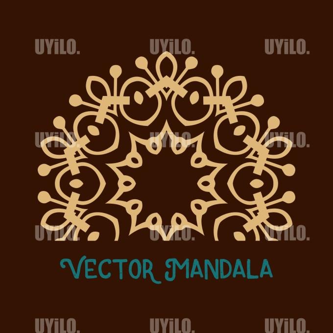Vector Mandala 22, Instant Download