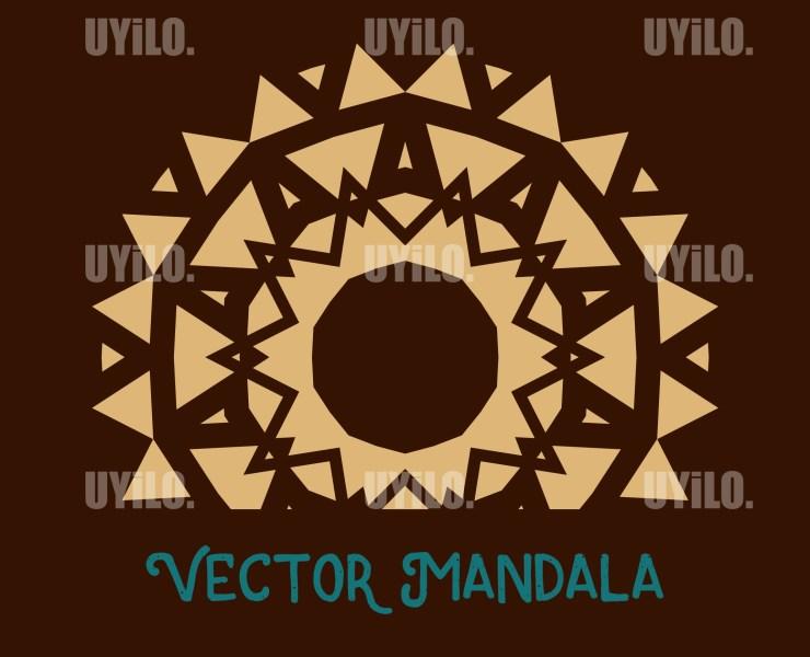 Vector Mandala 25, Instant Download