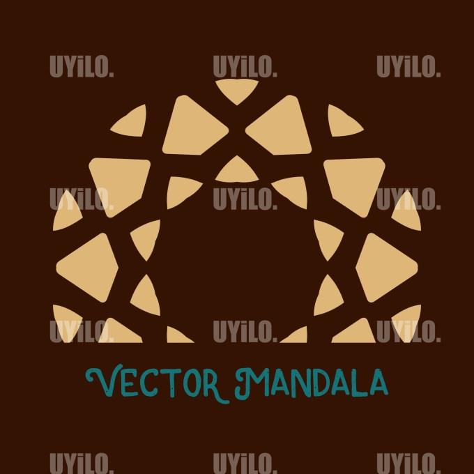 Vector Mandala 44, Instant Download