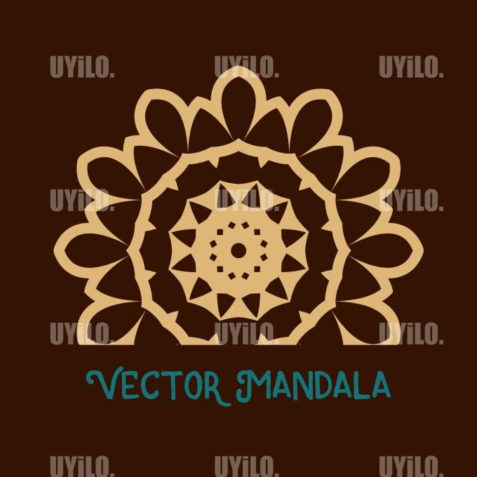 Vector Mandala 73, Instant Download