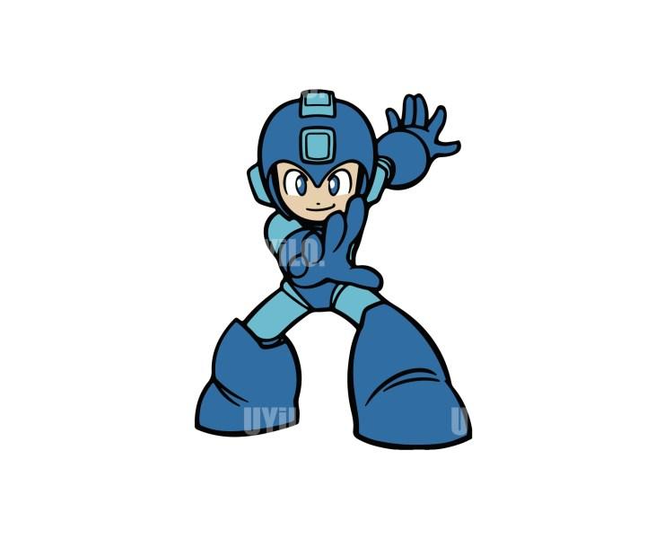 Mega Man Instant Download in EPS file