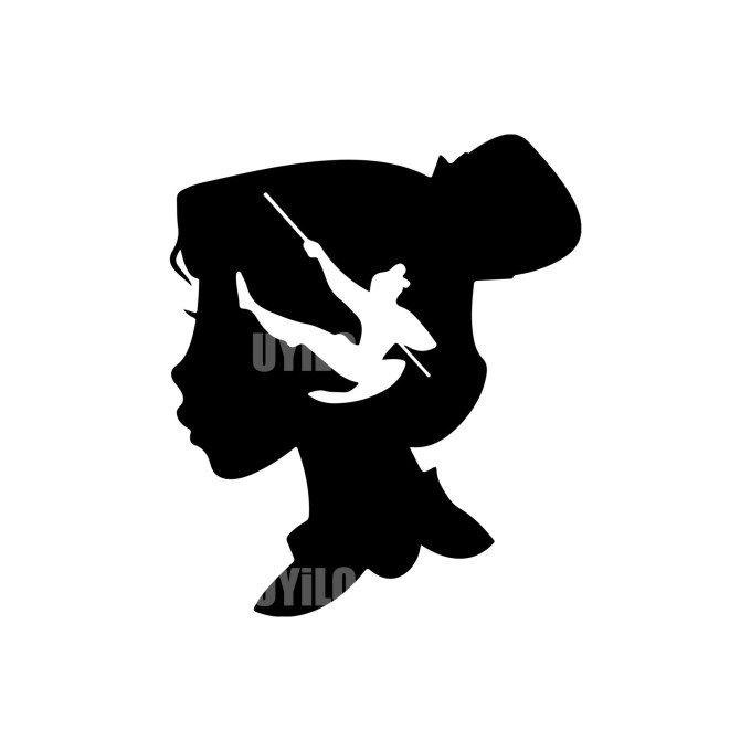 Mulan Disney Instant download in EPS file