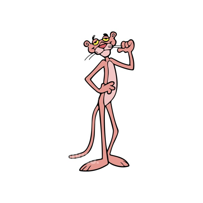 Pink Panther 3 Instant Download in EPS file