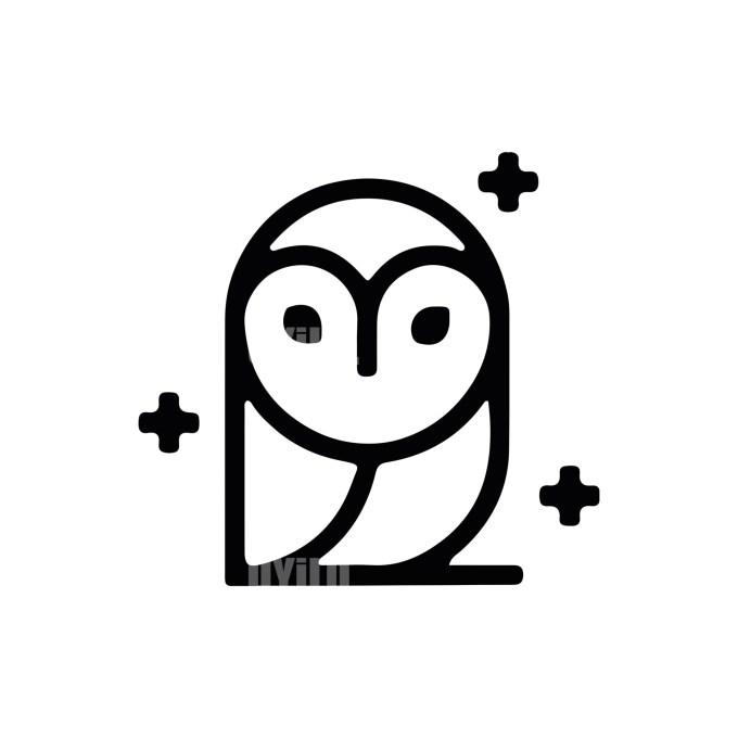 Owl Logo -13 Animals