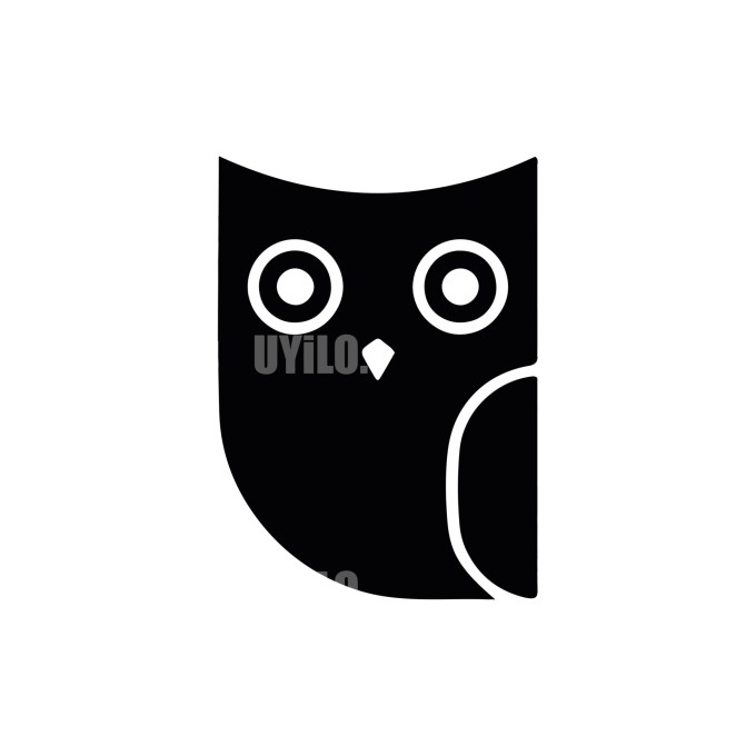 Owl Logo -8 Animals