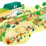 産業・観光ビジョン みらいマップ 代々木上原 緑道 マルシェ / Client 渋谷区