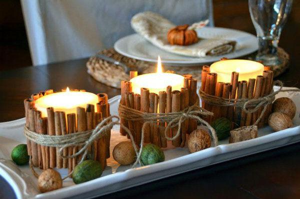Candlesticks ทำด้วยตัวเอง: ความคิดที่ดีที่สุด (มากกว่า 30 ตัวเลือก)