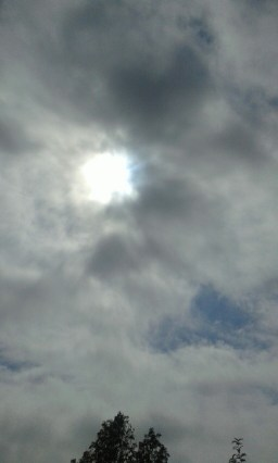 The Sky in Dar during Sun Eclipse which was total in the Southern Highlands zone of the Country
