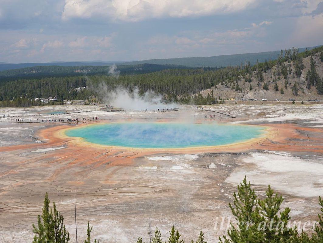 Yellowstone yanardağ dünyanın her yerinden turist çekiyor 92