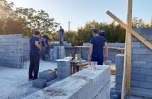 Izgradnja svlačionice Uzarići