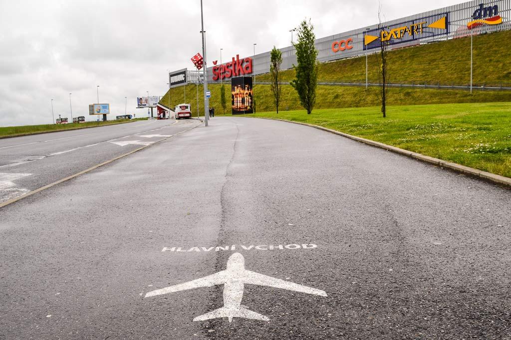 Аэропорт Праги. Торговый центр «Šestka»