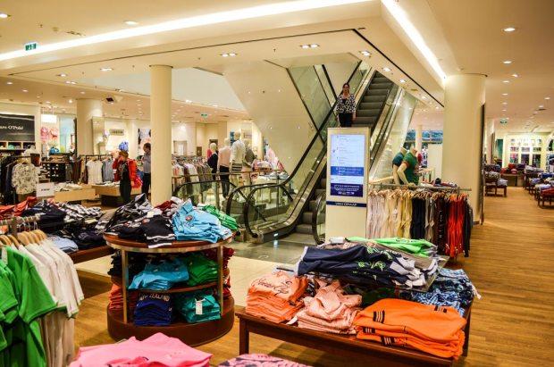 Магазины в Праге. Торговый центр «Van Graaf»
