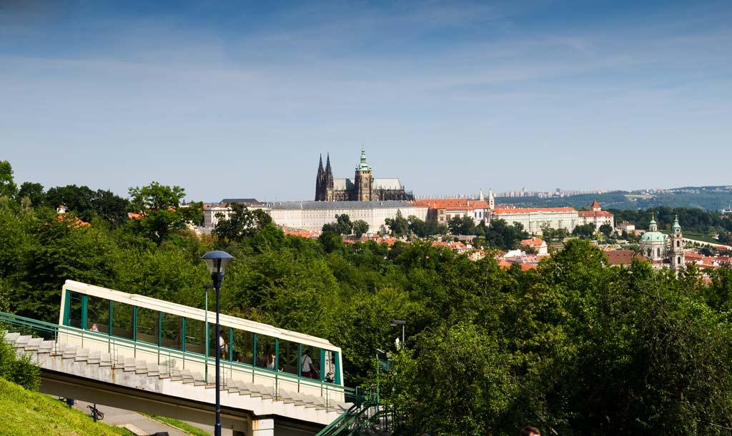 Фуникулёр в Праге