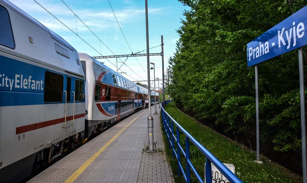 Прага. Электрика на станции Praha-Kyje