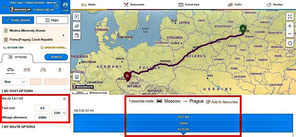Как добраться до Праги. В Прагу на машине