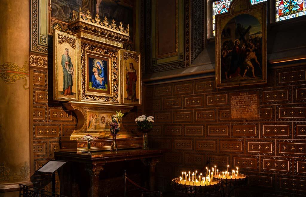 Костёл Св. Петра и Павла. Капелла Девы Марии Вышеградской «Дождливой»