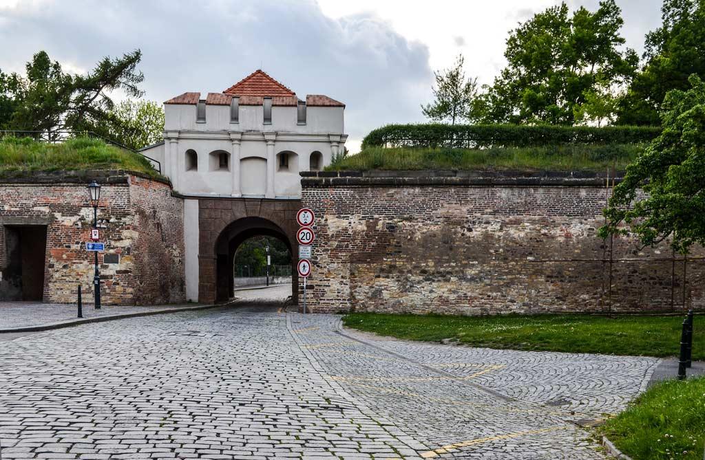 Прага. Вышеград. Таборские ворота