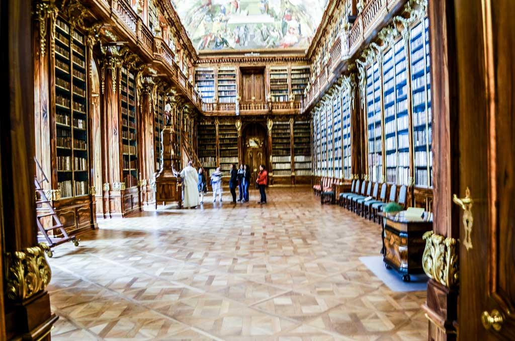 Страговский монастырь. Философский зал библиотеки