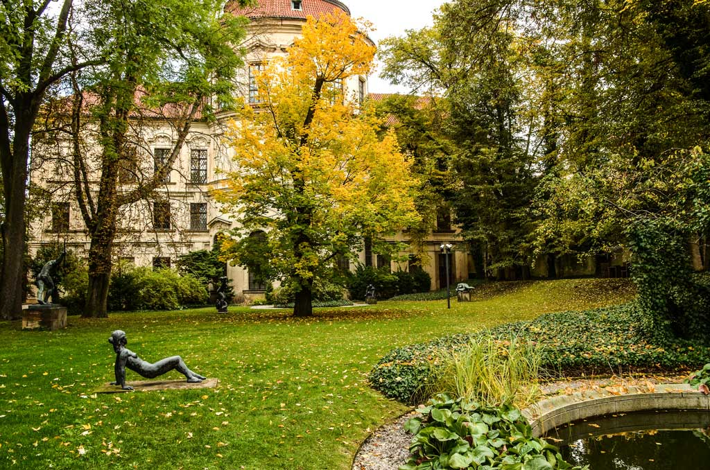 Прогулка по Праге самостоятельно. Градчаны. Штернбергский дворец. Сад