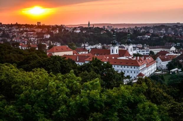 Прага. Страговский монастырь