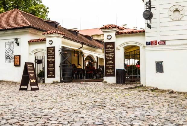Пивной маршрут по Праге. Пивоварня «Klášterní pivovar Strahov». Ресторация «Sv. Norbert».