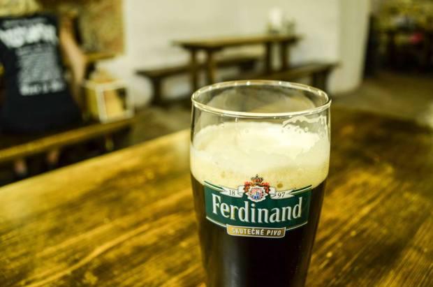 Чешское пиво. Классификация. Тёмный лагер «Ferdinand Tmavé 11°»