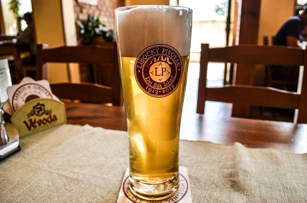 Чешское пиво. Классификация. Светлый лагер «Šárka 11°» Либоцкого пивовара