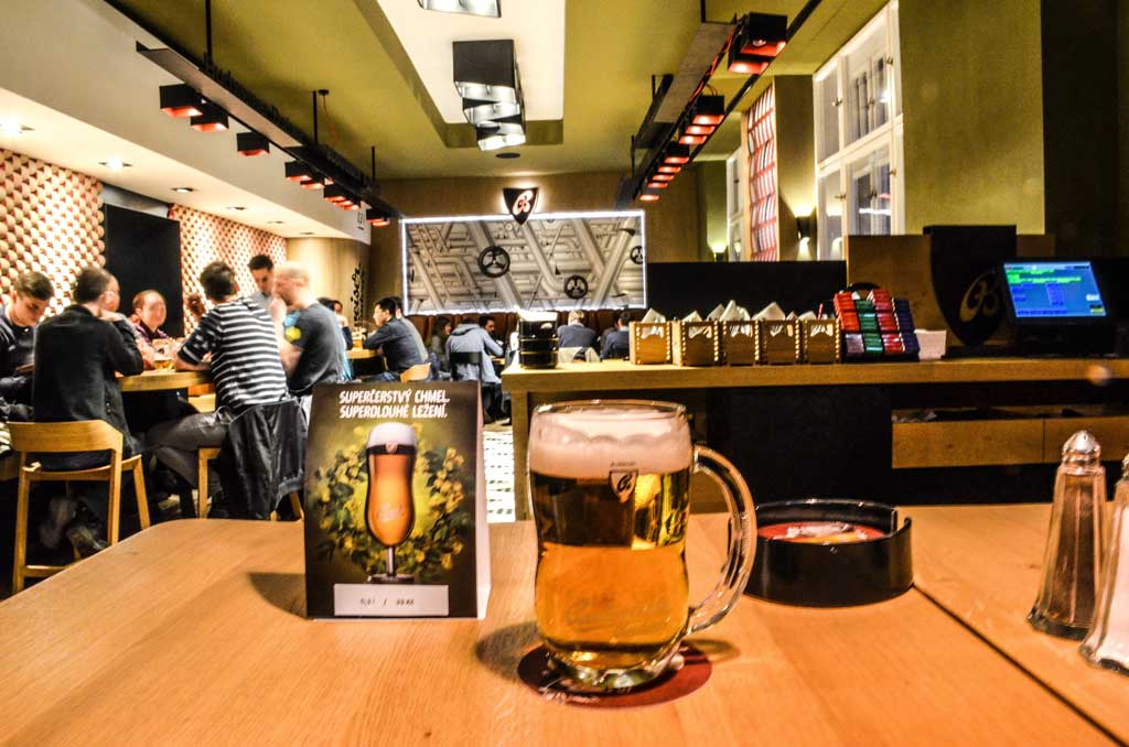 Пивные рестораны Праги.Restaurace «Budvarka»