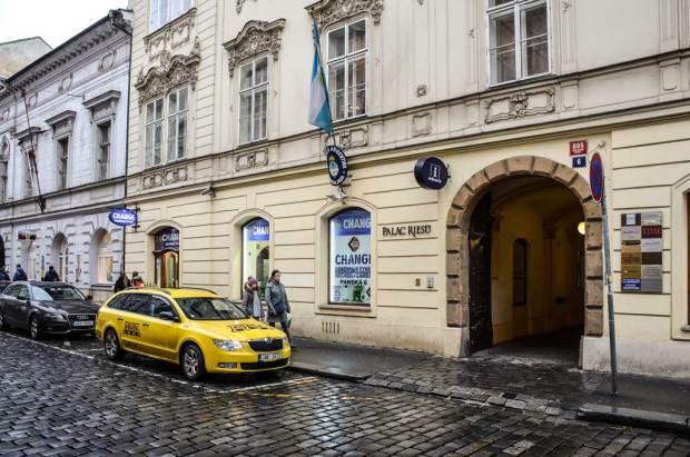Прага. Арабский обменник RYM на Panská, 6
