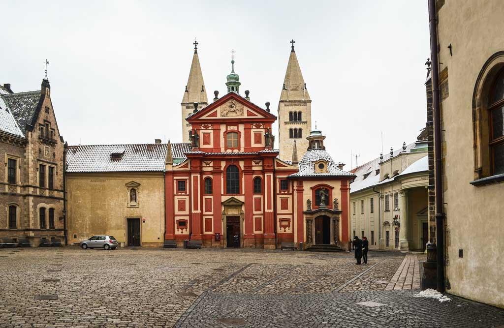 Пражский Град. Базилика Св. Иржи