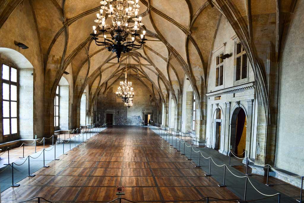 Старый королевский дворец. Владиславский зал