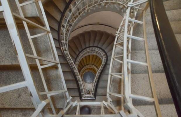 Лестница дома «У Чёрной Богоматери»