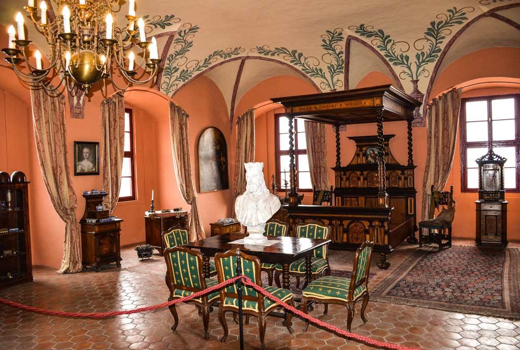Замок Мельник. Экспозиция музея
