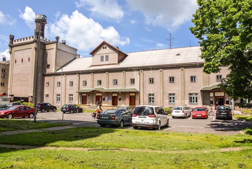 Пардубице. Пивоваренный завод «Pernštejn»