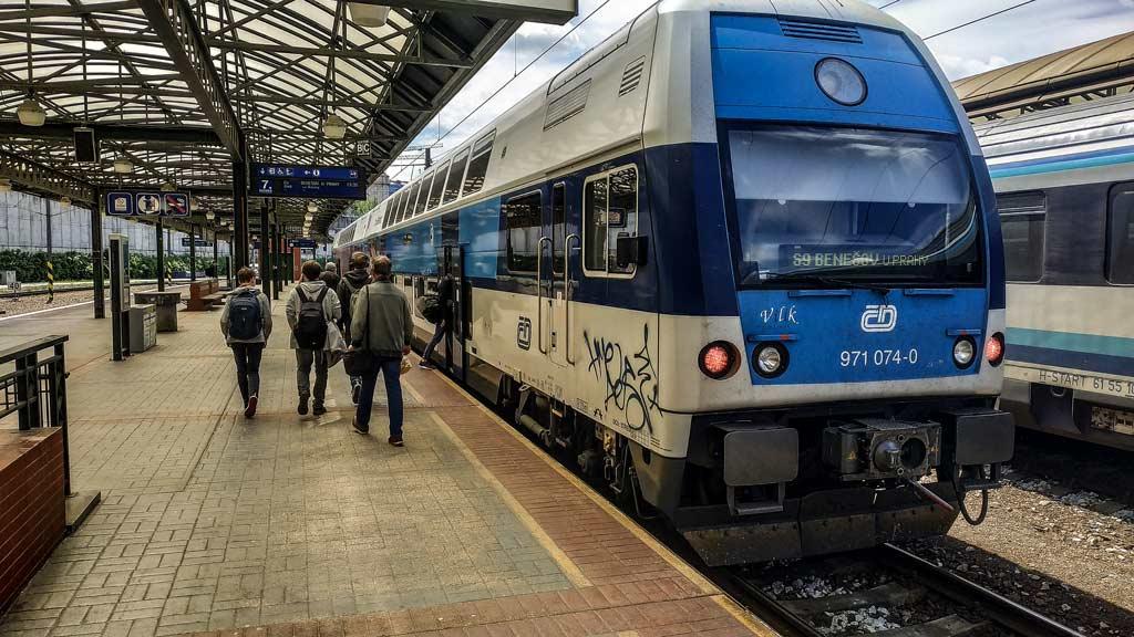 Прага. Главный железнодорожный вокзал