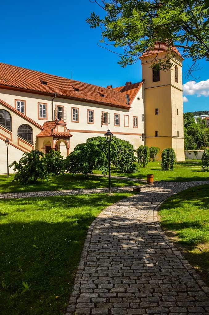 Чески-Крумлов. Миноритский монастырь