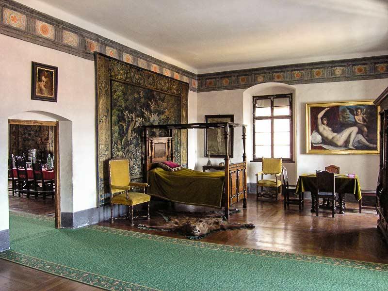 Замок Чески-Крумлов. Апартаменты эпохи Ренессанса