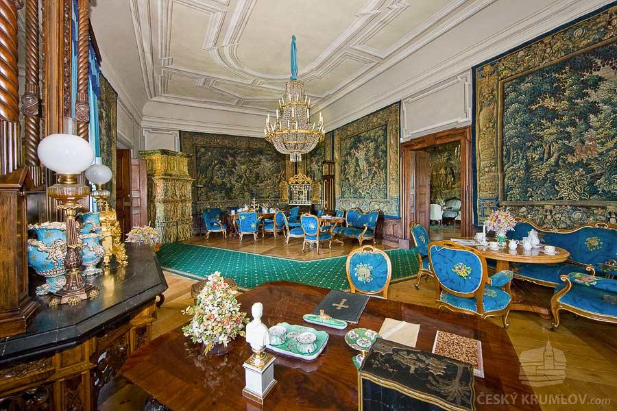 Замок Чески-Крумлов. Салон княгини Элеоноры