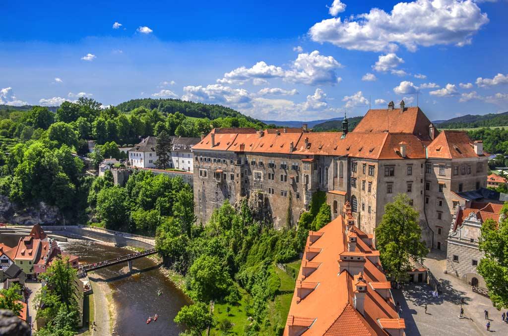 Замок Чески-Крумлов