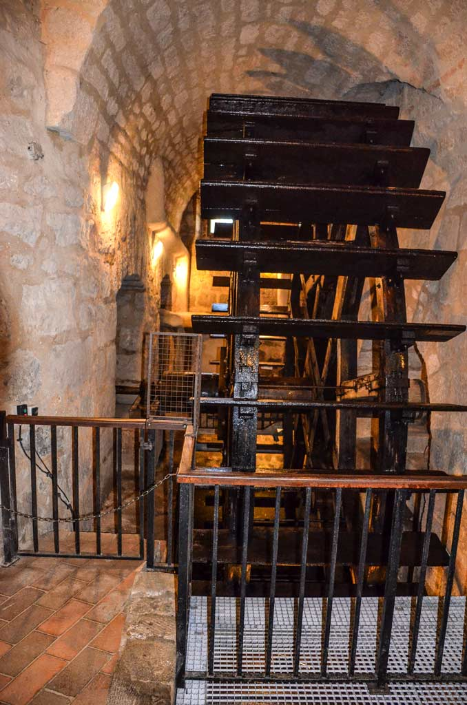 Пльзень. Водохранилище подземного города