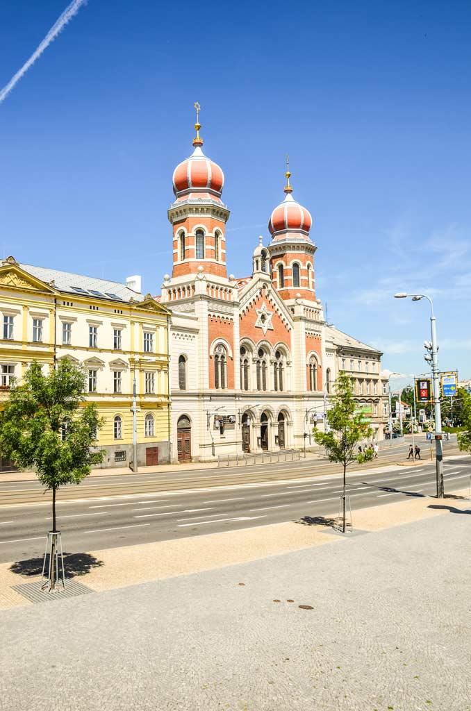 Пльзень. Большая синагога